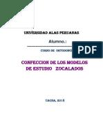 Ortodoncia Practica 2 Zocalado