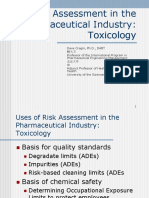 Risk Assessment in the Pharmaceutical Industry: Toxicology