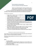 Guía de Medición Antropométrica