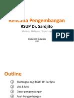 Rencana Pengembangan RSUP Dr. Sardjito