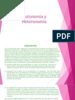 Autonomia y Heteronomia