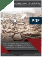 Informe Quebradas y Huaicos