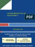 Concentraciones II