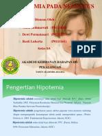 Pengertian Hipotemia