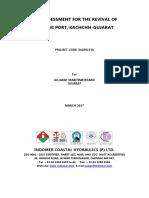 Risk Assessment for the Revival of Mandvi Port
