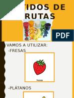 CEE María Soriano - Batidos de Frutas