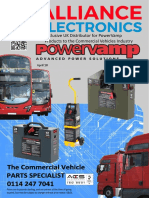 Alliance electronics ltd powervamp products 2018