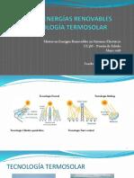 Otras Energías Renovables - Energía Termosolar