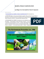 What says World Environmental Protection Act