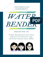 electrostatic water bender experiment  2
