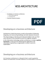 e Business Architecture
