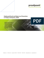 Proof Point Outbound Email and Data Loss Prevention 2010