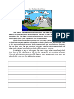 Explanation How the Water Cycle Works