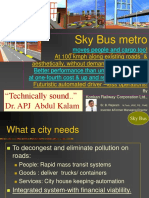 Sky Bus metro Presentation by B Rajaram