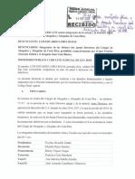 [TEXTO COMPLETO] #DenunciaPenal contra miembros de últimas dos Juntas Directivas del Colegio de Abogados y Abogadas de Costa Rica por caso de Premio #AbogadoDistinguido2016