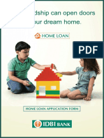 IDBI Bank Homeloan Application Form