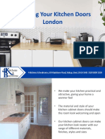 About 4 Kitchens & Bedrooms - Choosing Your Dream Kitchen Doors in London