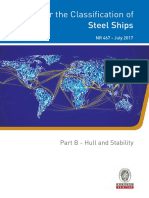 NR467_B1_2017-07 Rules for the Classification of Ships - Part B Hull & Stability