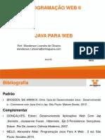 Aula 04 - Programação Web II - Jdbc