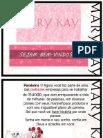 Treinamento para novas consultoras Mary Kay
