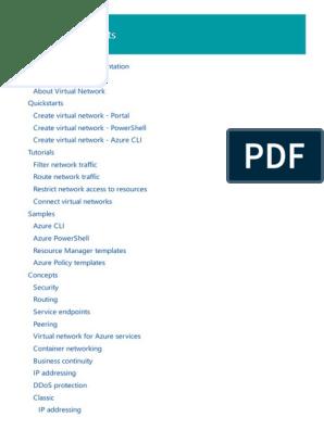 Azure Virtual Network | Virtual Private Network | Virtual Machine