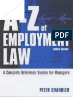 0749438894 - A - Z of Employment Law