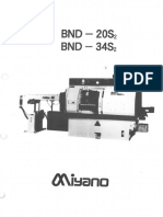 Miyano BND 20S2 34S2 Manual