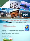 36068 Crire Une Carte Postale Des Vacances