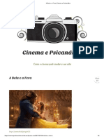 A Bela e a Fera _ Cinema e Psicanálise