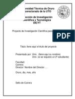 Anexo III Proyecto for-proyest-01(1)