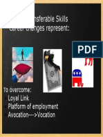 Myth of Transferrable Skills