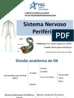 Aula 10 - Sistema Nervoso Periférico