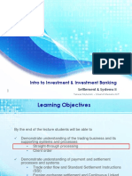 Week 5b Lecture - Introduction to Investment & Investment Banking IV