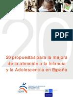 20 Propuestas Para La Mejora Del Adolescente