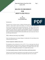 Fluid Design for Deep Water Wells