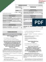Resolución Legislativa que aprueba el Acuerdo entre la República del Perú y la República de Colombia para la prevención investigación persecución del delito de la trata de personas y para la asistencia y protección a sus víctimas