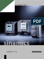 Lista Parametros Sinamics G110