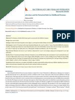 Helicobacter in Eczema