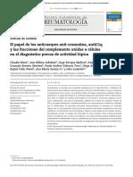 El Papel de Los Anticuerpos Anti-cromatina AntiC1q