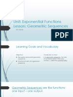 math i exponential function geometric sequences pdf