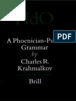 Krahmalkov - A Phoenician-Punic Grammar (2001).pdf