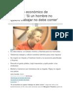 El Legado Económico de Thatcher