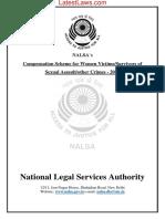 Compensation Scheme for Women Victims Survivors of Sexual & Assault other Crimes, 2018 by NALSA