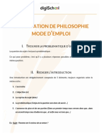 Faire Une Dissertation de Philosophie Philo Bac Stmg