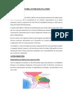 Guerra Entre Bolivia y Peru