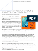 Politics of Resource Allocation_ the Case of the Pork Barrel Funds - SimplyEducate.me