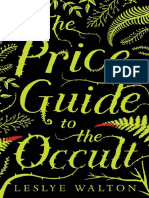 The Price Guide to the Occult by Leslye Walton Chapter Sampler