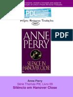 Anne Perry - Série Pitt 09 - Silencio em Hanover Close.pdf