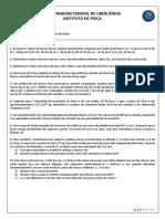 Lista de Exercícios - Momento Linear e o Movimento de Sistemas (2)