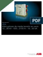 ABB VD4 INTERRUPTORES DE MEDIA TENSION EN VACIO.pdf